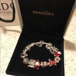 Disney Pandora Charm Bracelet